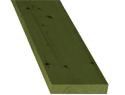 "1"" X 4"" X 10' S4S Pressure Treated #1 or better Redwood"