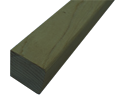 "2"" X 2"" X 12' S4S FOHC Pressure Treated #1 or better Redwood"