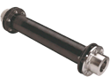 Addax Composite Driveshaft Driveshaft Assembly, 316 SS Hardware  Max HP @ 2.0 sf 1800/1500 RPM: 100 / 85  Max DBSE (in.) 1800/1500 RPM: 114 / 126