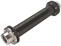 Addax Composite Driveshaft Driveshaft Assembly, 316 Stainless Steel Hardware  Max HP @ 2.0 sf 1800/1500 RPM: 250 / 213  Max DBSE (in.) 1800/1500 RPM: 170 / 189