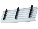 3' X 6' PVC panel, 50 mil blade thickness designed for counterflow and crossflow applications.