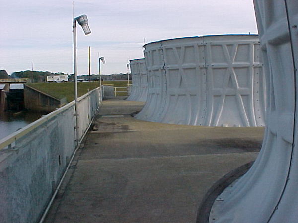 Cooling Tower Lightning Protection