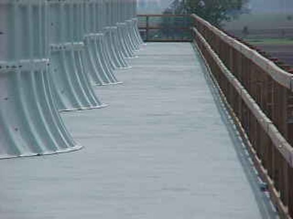 Wood decks non skid for wood decks for Non wood decking material